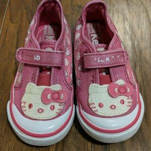 Keds Hello Kitty Toddler Velcro Sneakers